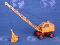 NZG 562-02 Fuchs F301 Wheeled Excavator - Orange 1/87 HO Scale Die-cast MIB