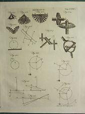 1797 georgiano impresión ~ mecánica distintos COGS ~ diagramas