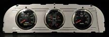 1960 1961 1962 1963 CHEVY TRUCK 3  GAUGE GPS DASH PANEL CLUSTER BLACK
