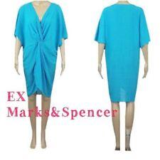 Abbigliamento blu in poliestere per il mare e la piscina da donna taglia M