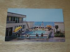 Vintage Surf Auto Hotel - Santa Monica, California - Postcard - Unused Unposted