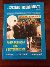 R30> Il secondo Risorgimento d'Italia n.9/10 2002 - porta San Paolo 1943 - 2002