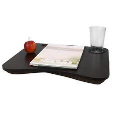 Large Size Wood Lap Desk with Luxury Comfort Foam Cushion, Cherry Wood