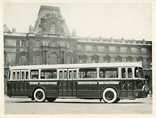 Paris, Hôtel de Ville - Palais-Royal - Concorde Vintage silver print Tirage ar