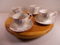 New Old Stock 4 Johnson Brothers SUMMER CHINTZ Cups And Saucers Tea Coffee