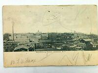 Vintage Postcard 1906 Manufacturing District Jamestown NY New York