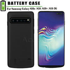 Fit Samsung Galaxy S10 Plus S10e Portable Extend Power Bank Battery Charger Case