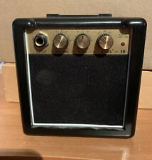 Rms-10 battery powered guitar amplifier with belt clip portable overdrive