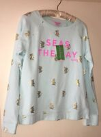 NWT Lilly Pulitzer UPF 50+ Braydon Pullover Seas The Day Size XS Sold Out