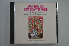 Music from the morning of the World rec. in Bali by Lewitson CD no ifpi m.in USA
