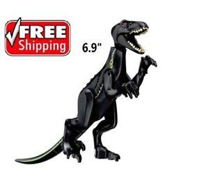 Black Indoraptor Jurassic World Park Big Dinosaur fit LEGO figure