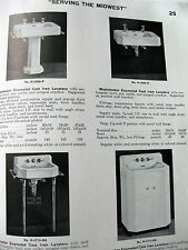 1947 Plumbing and Heating Catalog Nice Example of Vintage Fixtures