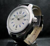 GENFA PRECISION Luxury Men's Gift Antique Pre-WWII Era STAINLESS STEEL Watch