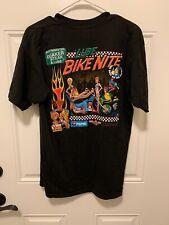 Quaker Steak And Lube Bike Night T Shirt L Motorcycle