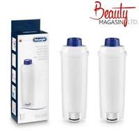 2 Pack DeLonghi Replacement Water Filter DLSC002 Fits ECAM23450SL EC680M EC860