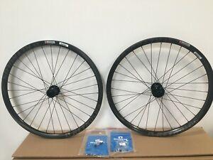 """Reynolds 27.5"""" Carbon Wheelset Downhill 287 Blacklabel Industry Nine Tubeless I9"""