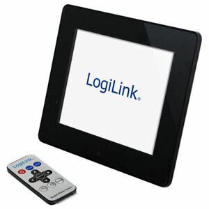 """Logilink 17.8cm / 7"""" Digitaler Bilderrahmen mit Fernbedienung"""