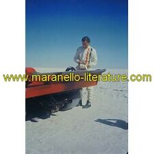 (2788) Photo 1974 Ferrari 512 M Graham Hill + Paul Newman + Luigi Chinetti jr. /