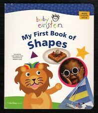 Baby Einstein:  My First Book of SHAPES:  NEW  Educational Board Book by Disney