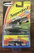 Matchbox Superfast Noir Chevy Bel Air Hardtop Neuf Limité Edition 1:64