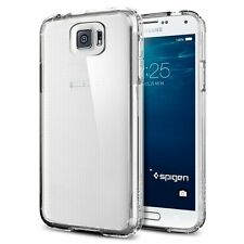 spigen cases, covers and skins for samsung galaxy s6 ebayspigen galaxy s6 ultra hybrid case crystal clear elite protection tpu bumper