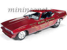 AUTOWORLD AW1166 1972 PLYMOUTH CUDA BIG JOHN MAZMANIAN FUNNY CAR NHRA 1/18 RED
