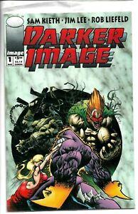 DARKER IMAGE 1 Image Comics 1st Keith MAXX Bagged w/BLOODWULF Rookie Card NM