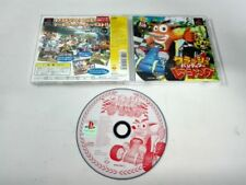 Crash Bandicoot racing PLAYSTATION ,PS2, PS3 PSX  JAPONES