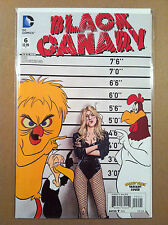 BLACK CANARY #6 PIA GUERRA LOONEY TUNES VARIANT COVER 1ST PRINTING WARNER BROS.