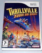 Thrillville Fuori dai Binari 1a Stampa Italiana Wii Ottimo con manuale