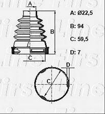 FCB2815 FIRST LINE CV JOINT BOOT KIT fits Honda Accord, FRV - Inner
