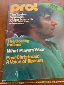 1976 Denver Broncos v Cleveland Browns Football Program Upchurch 2 Punt Returns