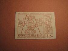 Sweden Booklet Scott# 1543A Stockholma 1985 Mint L2