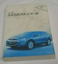 2010 MAZDA CX-9 OWNERS MANUAL BOOK
