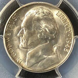 1945-S 5C Jefferson Nickel PCGS MS64        35566316