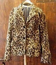 GIacca/donna/invernale/pelliccia ecologica/animalier/leopardato