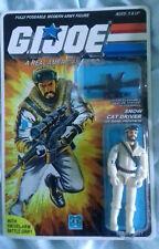 1984 GI Joe Frostbite (snow cat driver) Complete Sealed MOC *CUSTOM*