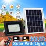 80 LED Energia Solare Proiettore Luce Telecomando Sicurezza Giardino Esterno