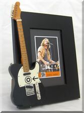 EDDIE VEDDER  Miniature Guitar Frame Pearl Jam