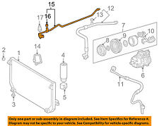 TOYOTA OEM 98-02 Corolla 1.8L A/C Condenser Compressor Line-AC Hose 8871602080