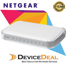 NETGEAR GS608 8-Port 10/100/1000 Gigabit Desktop Switch