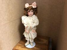 Dianna Effner muñeca de porcelana 36 cm. top estado