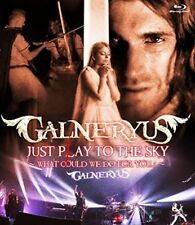 GALNERYUS JUST PLAY TO THE SKY WHAT COULD WE DO FOR YOU Blu-ray Japan WPXL-90179