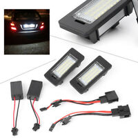 License Plate Light 24SMD LED No Error For Audi A4 B8 S4 A5 S5 Q5 S TT quattro