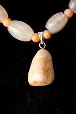 Peaches and Cream Delicate Pendant Necklace, 18 to 22 inches