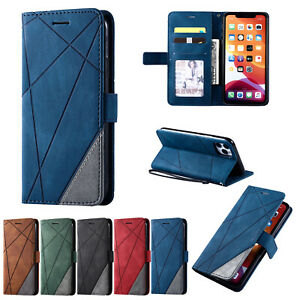 iPhone Frosted Leather Wallet Card Holder Case 12 Pro 11 Pro Max XS XR X 8 7 6 5