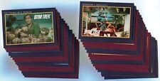 STAR TREK 25th Anniversary 1991 Base Card LOT!!! NM/M 135 Cards IMPEL