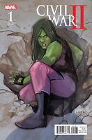 Civil War II #1 Noto Kamala Variant Comic 1st Print 2016 NM Ships T-Folder