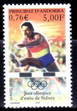 ANDORRA FRANCESA 2000 534 DEPORTES JUEGOS OLIMPICOS DE VERANO SIDNEY 1v.