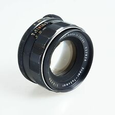 = Asahi Pentax Super Takumar 55mm f2 M42 Mount Lens for m4/3 Mirrorless Cameras